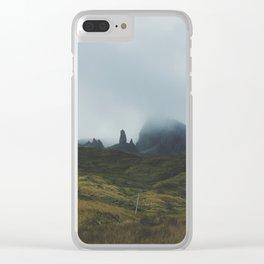 isle of skye, ix Clear iPhone Case