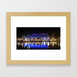 Bayford Wharf Framed Art Print