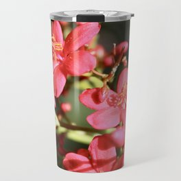 Beautiful Floral Travel Mug