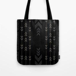 Headlands Arrows Black Tote Bag