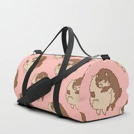 Pomeranian Hugs Duffle Bag