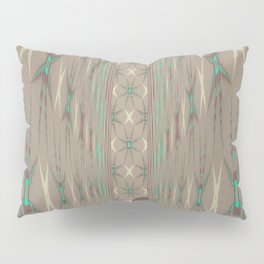 Pallid Minty Dimensions 3 Pillow Sham