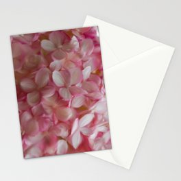 Digital hydrangea Stationery Cards