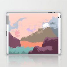 Pink Sky Mountain Laptop & iPad Skin