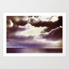 Sky Ring Art Print