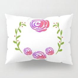 Floral Round Pillow Sham
