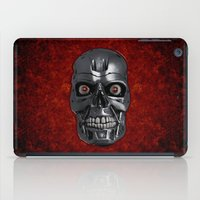 terminator iPad Cases featuring Terminator Monochrome by Leslie Philipp