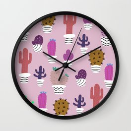 Sedona arizona desert blooms Wall Clock