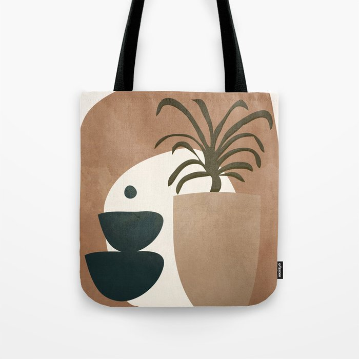Abstract House Decoration Tote Bag