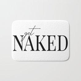 get naked II Bath Mat