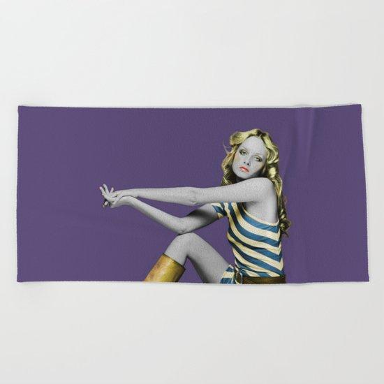 Twiggy Beach Towel