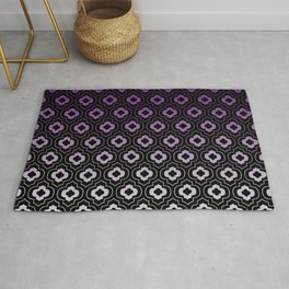 Ornament pattern Classic - violet Rug