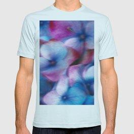 Hydrangea in the wind T-shirt
