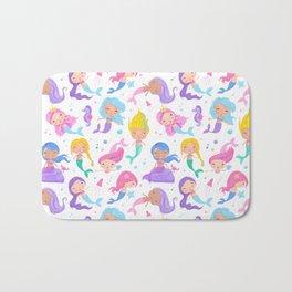 Pretty Mermaids Bath Mat