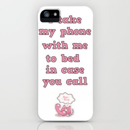 call me! iPhone Case
