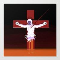 neon genesis evangelion Canvas Prints featuring Lilith (Neon Genesis Evangelion) by CatOverlord
