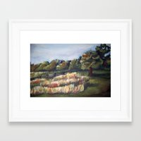battlefield Framed Art Prints featuring Gettysburg Battlefield by Megan Lucas