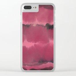 Modern Hippy Clear iPhone Case