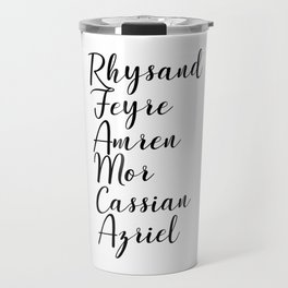 Night Court Names Travel Mug