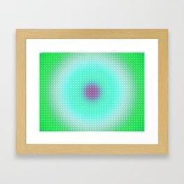 Ripple III Pixelated Framed Art Print