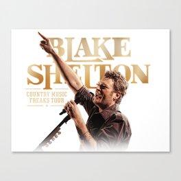 Blake Shelton tour Canvas Print