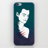 stiles stilinski iPhone & iPod Skins featuring Teen Wolf Stiles Stilinski by neonico