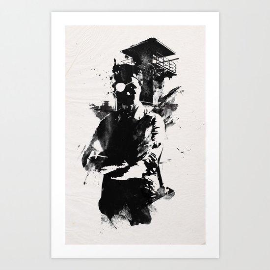 Once I was the govenor Art Print