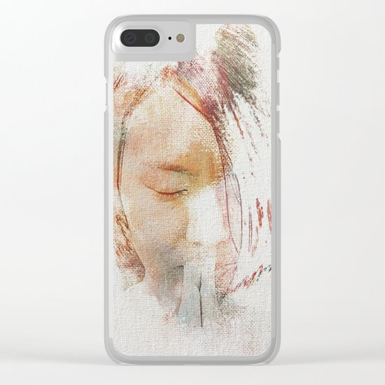 The Color Peace 2 Clear iPhone Case
