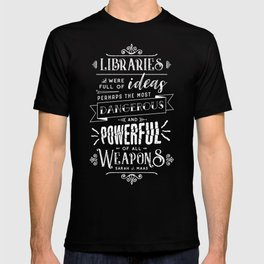 Libraries T-shirt