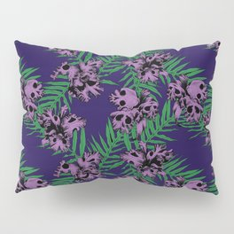 Orchid Skulls Pillow Sham