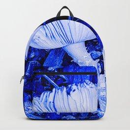 Blue Mushroom Backpack