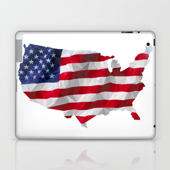 The Star-Spangled American Flag Laptop & iPad Skin