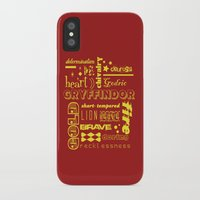 gryffindor iPhone & iPod Cases featuring Gryffindor by husavendaczek