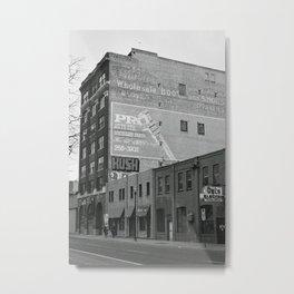 Exchange District Metal Print