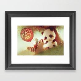 Bandits in Love Framed Art Print