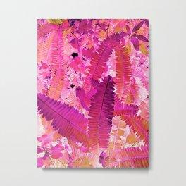 Tropicana foliage Metal Print