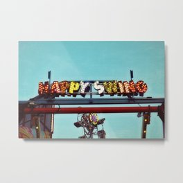 happy swing Metal Print