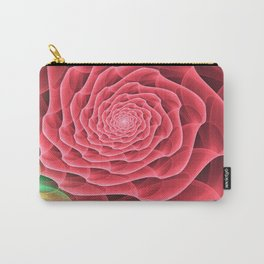 Swirling into a Rose Carry-All Pouch