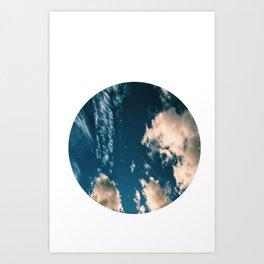 Circle Sky Art Print