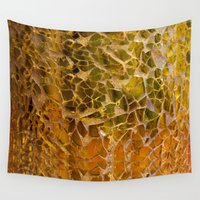 glass Wall Tapestries featuring Glass by Veronika