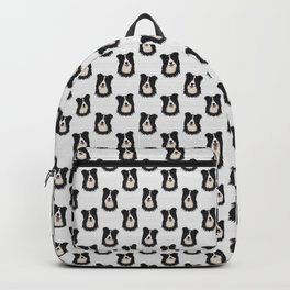 Happy Border Collie Backpack