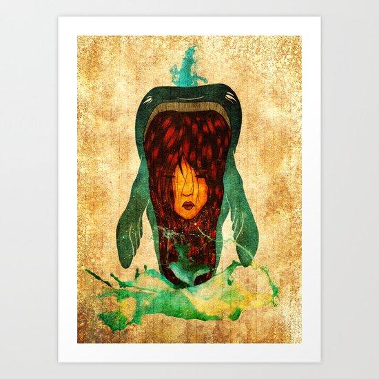 Balena Art Print