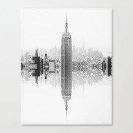 Skyline New York Architecture City Canvas Print