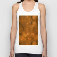 gold foil Tank Tops featuring Gold Foil 10 by Robin Curtiss