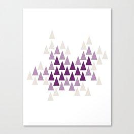 Amethyst Forest by Seasons K Designs Canvas Print