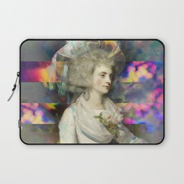 Woman in White Laptop Sleeve