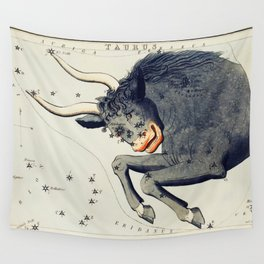 Sidney Halls (-1831) astronomical chart  of the Taurus Wall Tapestry