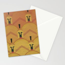 300, movie poster, penguin book version, Frank Miller, graphic novel Stationery Cards