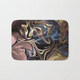 Liquid Gold Marble Bath Mat