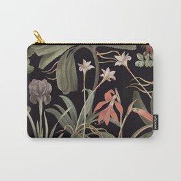 Dark Botanical Stravaganza Carry-All Pouch